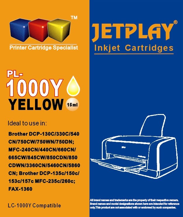 LC1000 Yellow  Compatible